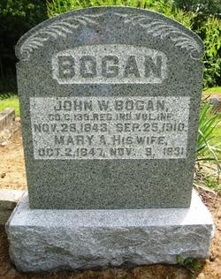 Mary Ann <i>Stowers</i> Bogan