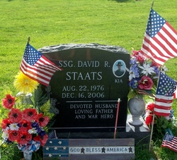 Sgt David Roger Lee Staats