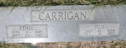Ethel Gertrude <i>Terral</i> Carrigan