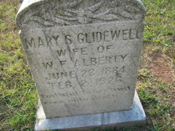 Mary Susan <i>Glidewell</i> Alberty