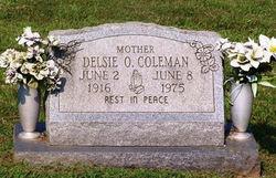 Delsie Olivia <i>Davis</i> Coleman
