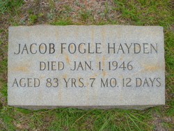 Jacob Fogle Jake Hayden
