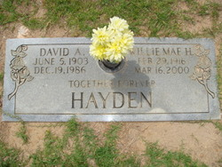 Willie Mae Mamie <i>Heatley</i> Hayden