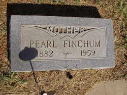 Ada Pearl <i>Taylor</i> Finchum