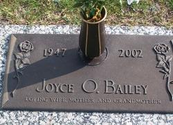 Joyce Ophelia <i>Sanders</i> Bailey
