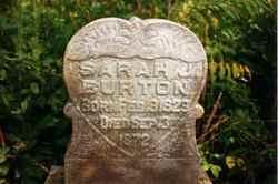 Sarah Jane <i>Mulckey</i> Burton