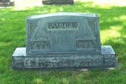 Jacob F Bauder