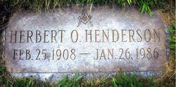 Herbert O Henderson