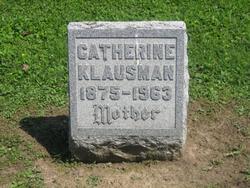 Catherine <i>Kronenwetter</i> Klausman
