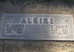 Sarah Annie <i>Johnson</i> Alkire