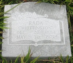 Eldorado Rada <i>Whittington</i> Rogers