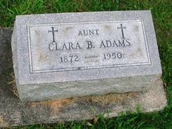 Clara B <i>Hull</i> Adams