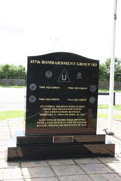 457 Bomb Group Memorial