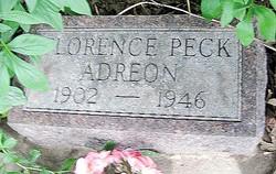 Florence <i>Peck</i> Adreon