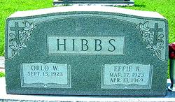 Effie Ruth <i>Daily</i> Hibbs