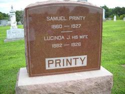 Lucinda Elizabeth Jane <i>Adams</i> Printy