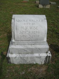 Anna Pearl <i>Walker</i> Wise