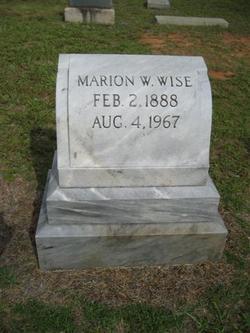 Marion Wroe Wise