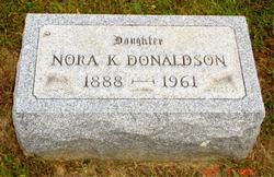 Leah Nora Nora <i>Keenen</i> Donaldson