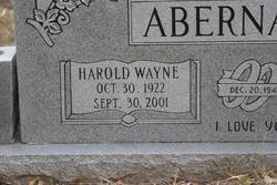 Harold Wayne Abernathy
