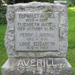 Elizabeth Boughton <i>Stebbins</i> Averill