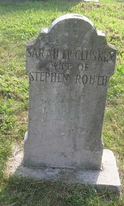 Sarah <i>McCluskey</i> Routh