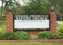 Angier Primitive Baptist Church Cemetery
