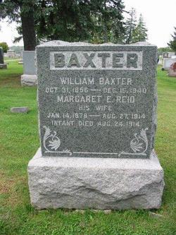 Margaret E. <i>Reid</i> Baxter