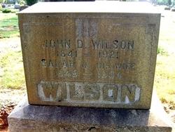 John David Wilson
