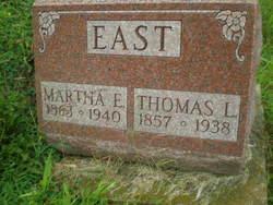 Martha Elizabeth <i>Wilson</i> East