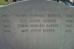 Ida Mabel <i>Alger</i> Barker