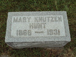 Mary <i>Cox</i> Hunt