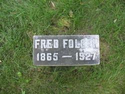 Frederick Ward Fred Folger