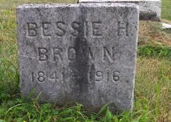 Bessie <i>Hickok</i> Brown