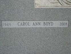 Carol Ann <i>Kern</i> Boyd