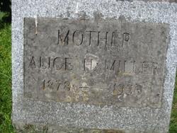 Alice H <i>Cook</i> Miller
