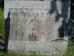 Rev Walter A Miller
