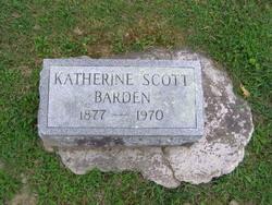 Katherine <i>Scott</i> Barden