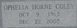 Ophelia <i>Horne</i> Coley