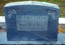 Milton C. Lee, Jr