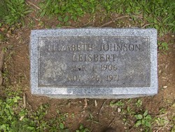 Mary Elizabeth <i>Johnson</i> Geisbert