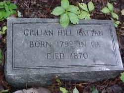Gillian Gillie <i>Hill</i> Rattan