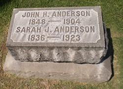 Sarah Jane <i>Miller</i> Anderson