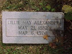 Lillie May Alexander