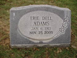 Erie Dell Adams