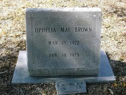 Ophelia Mae <i>North</i> Brown
