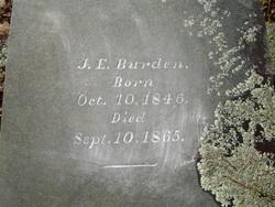 John E Burden