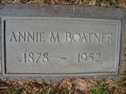 Annie Mary <i>Jordan</i> Boatner