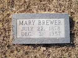 Mary <i>Coker</i> Brewer