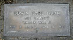Edwin Earl Kuhn